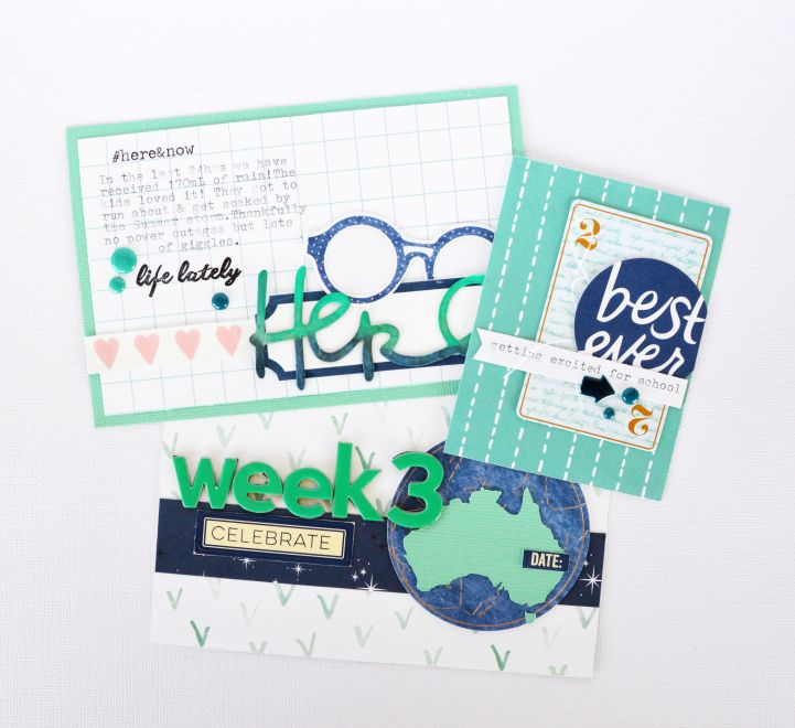 As seen in Issue 9 of Jot - a Project Life card tutorial from Jot Girl Leanne Allinson.