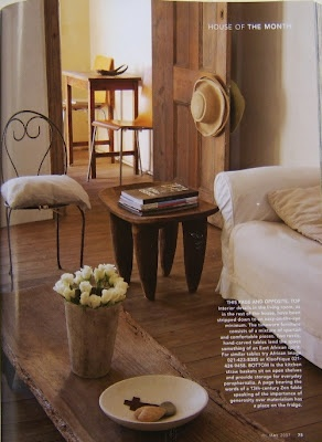 Smoke and Ochre: Some South African decor style