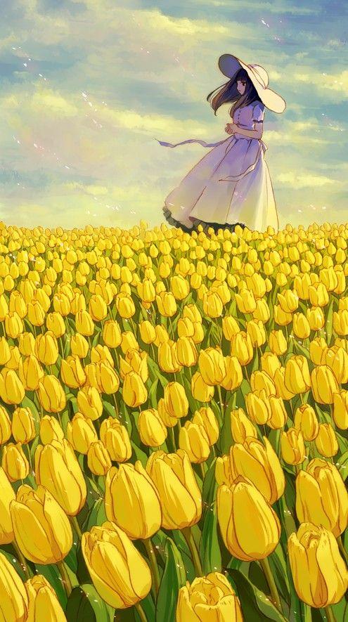 #anime flowers: