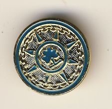 GIRL GUIDE BADGE RANGER CHALLENGE BROOCH (288)