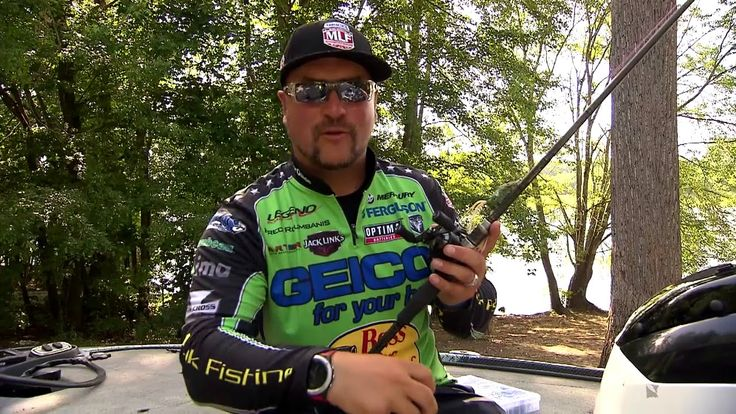 Major League Lesson Fred Roumbanis On Frog Fishing In This Major League Lessson