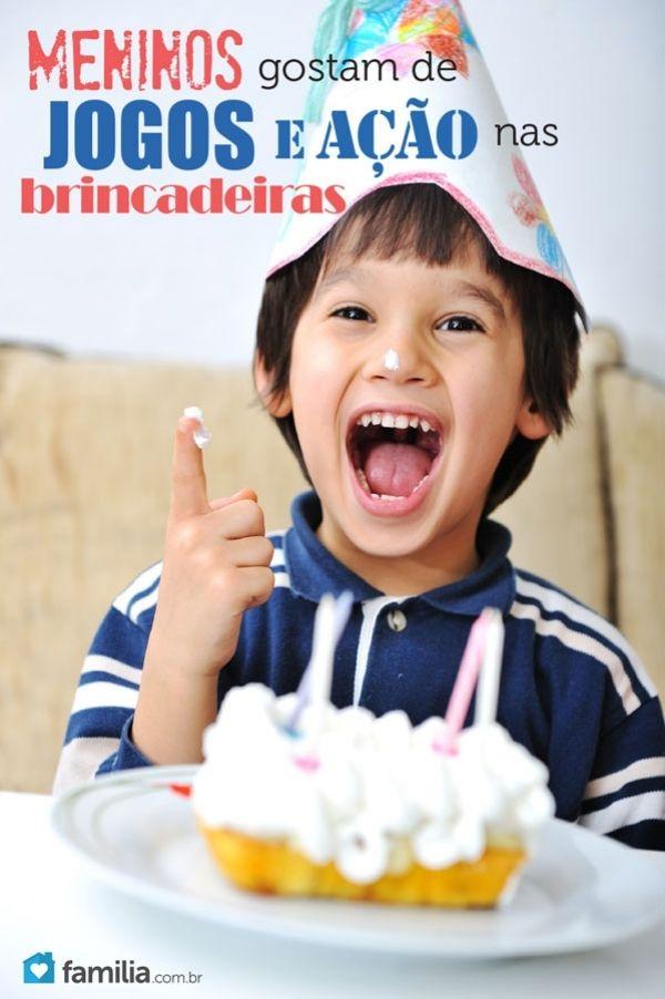 Jogue os meninos na festança: 5 jogos para festa de aniversário de menino