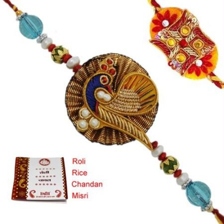 12 best images about rakhis on pinterest abstract art for Craft supplies online india cash on delivery