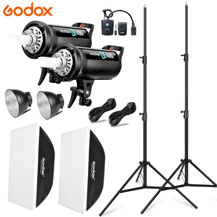 2x Godox DE400 Studio Photo Accessories Flash Lighting Kit 220V LED Video Light Lamp 2x Softbox. #Godox #DE400 #Studio #Photo #Accessories #Flash #Lighting #220V #Video #Light #Lamp #Softbox