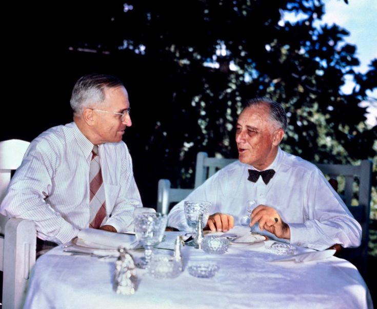 FDR and Harry Truman