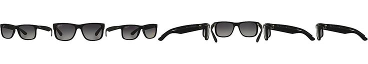 Ray-Ban Polarized Justin Gradient Sunglasses, RB4165 54