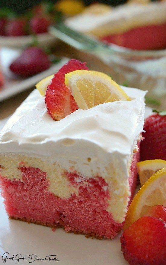 Cake Mix Doctor Triple Layer Strawberry Cake