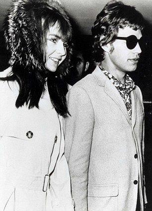 Chrissie Shrimpton and Mick Jagger