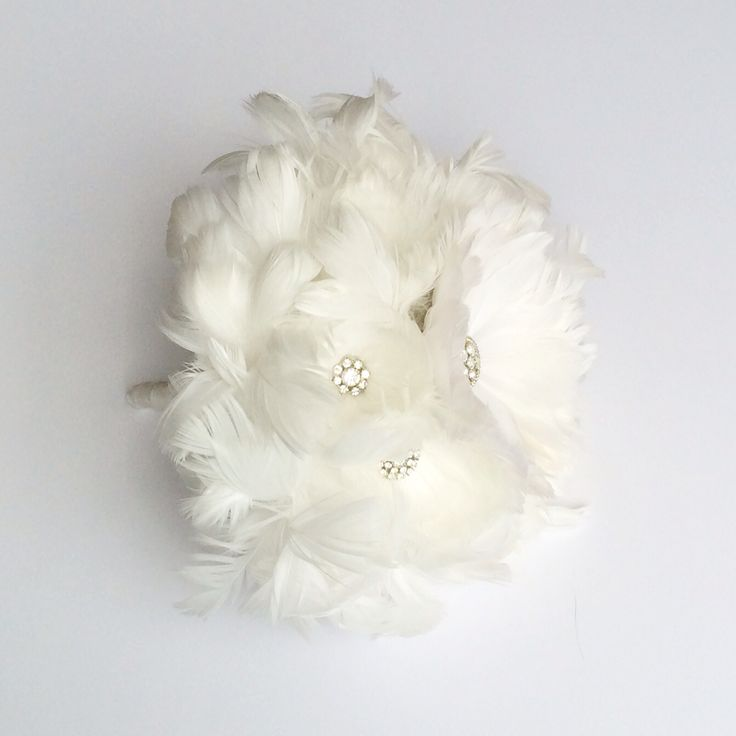 Feather Bouquet by Florio Designs