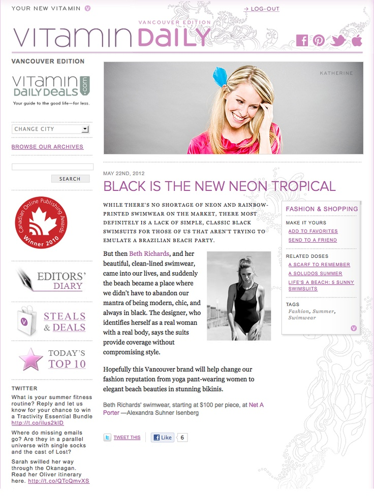 Black is the New Neon Tropical by Alexandra Suhner Isenberg