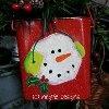 Painted Snowman Pail | AllFreeChristmasCrafts.com