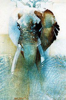 Elephant by Keith Joubert