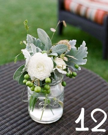 simple wedding arrangement