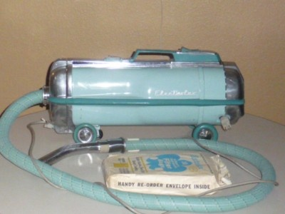 Electrolux canister vacuum cleaner - still have one in the garage, and it still works!