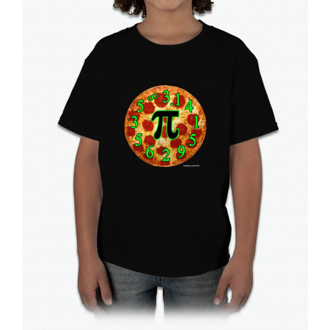 Pizza Pi Young T-Shirt