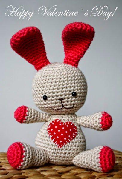 Valentines Day Heart Bunny