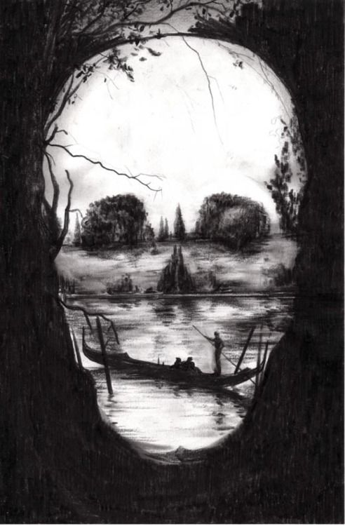 1280x1024 skull optical illusion - photo #2