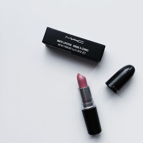 Currently in our editor's makeup bag - MAC lipsticks.