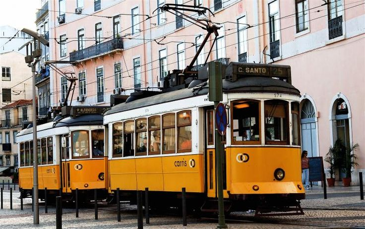 Tram 28 - Hop on Lisbon's old wooden trams and go on a charming journey through the most emblematic districts, exploring its narrow streets and corners.