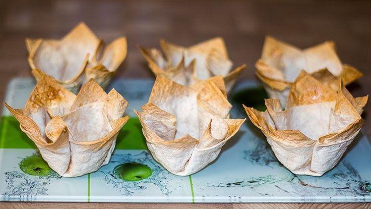 Тарталетки для праздничных закусок за 10 минут