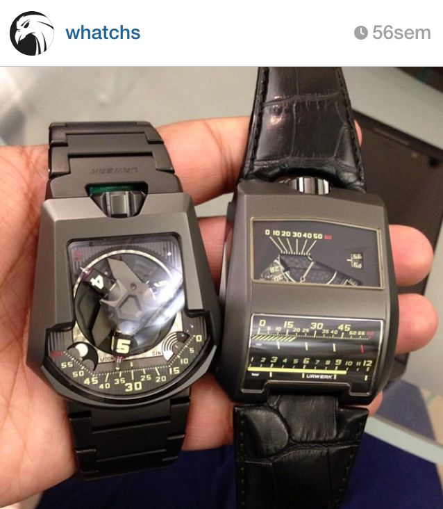 202S & Black Cobra, Urwerk by Whatchs