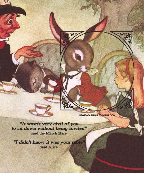 March Hare Quotes: 117 Best Images About Alice In Wonderland Quotes On