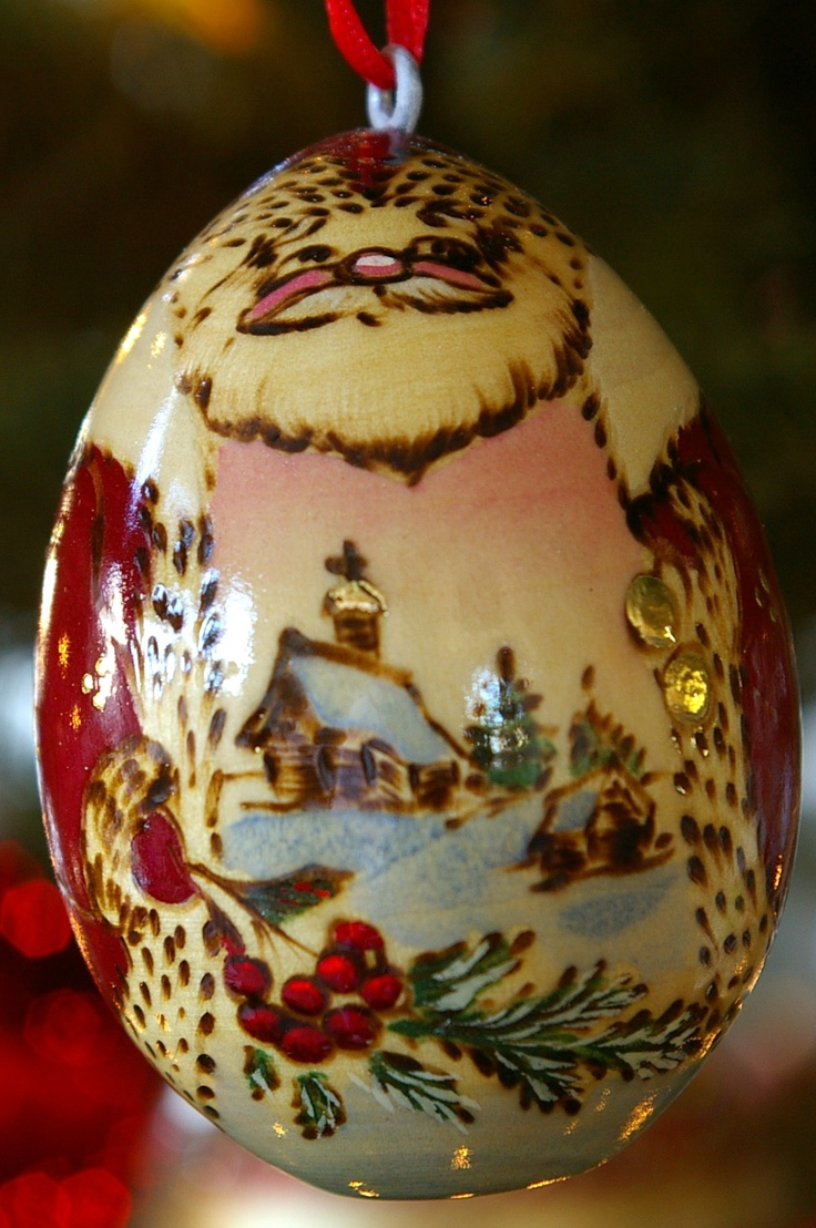 Russian Wooden Egg Ornament Photo By Leslie Anneliese