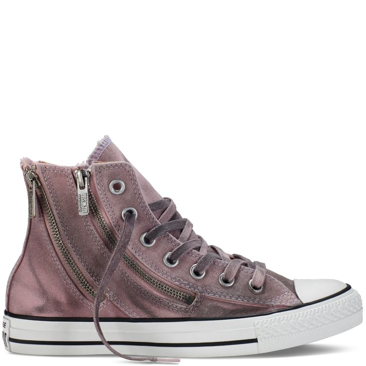 Converse - Chuck Taylor All Star Dual Zip Black Wash -Pink Freeze - High Top