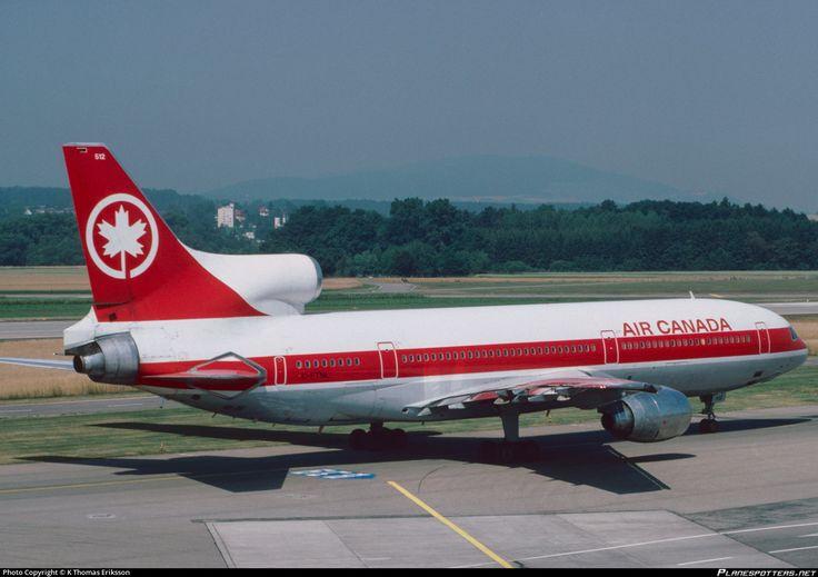 C-FTNL Air Canada Lockheed L-1011-385-1-15 TriStar 100 photographed at Zurich - Kloten (ZRH / LSZH) by K Thomas Eriksson