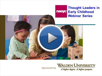 In this webinar, the first installment of the NAEYC Thought Leaders in Early Childhood webinar series, Dr. Clancy Blair, professor of applie...