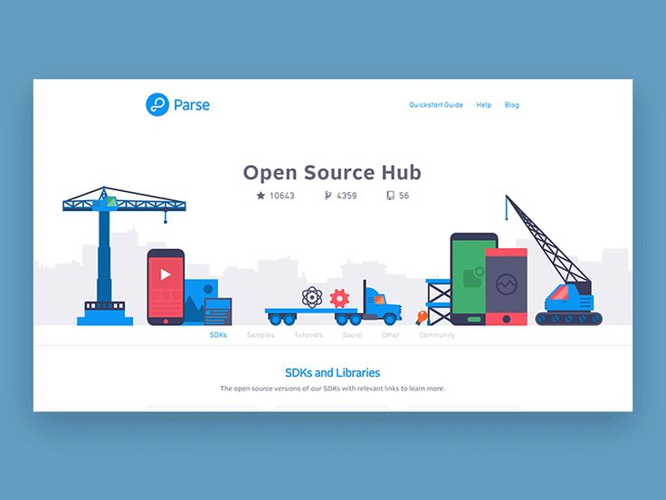 Open Source Hub by Jake Blakeley for Facebook
