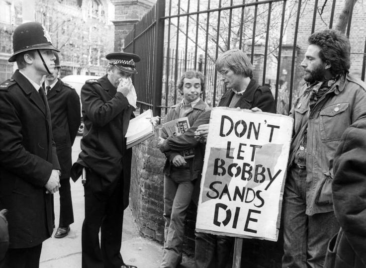 "March 1,   1981"" IRA'S BOBBY SANDS BEGINS FATAL HUNGER STRIKE  -    Irish Republican Army (IRA) member Bobby Sands begins a hunger strike at the Maze Prison in Northern Ireland; he died 65 days later."