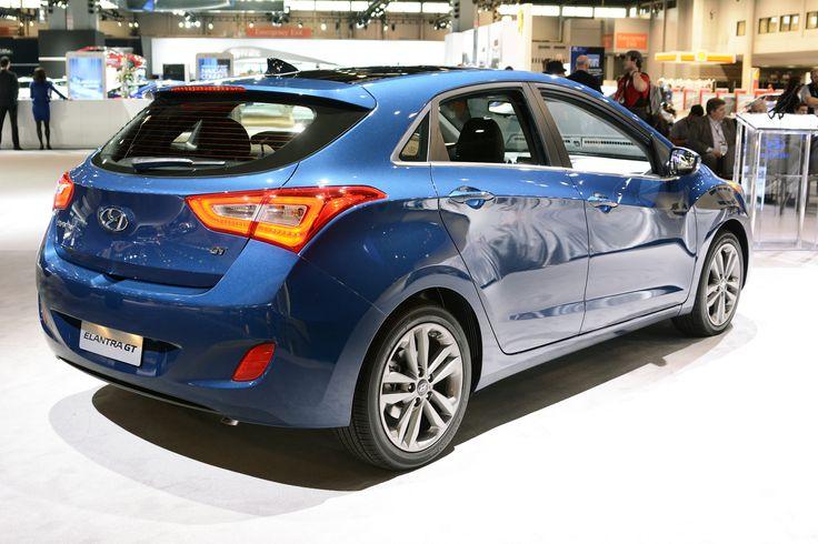 Chicago 2015 2016 Hyundai Elantra GT Hyundai elantra