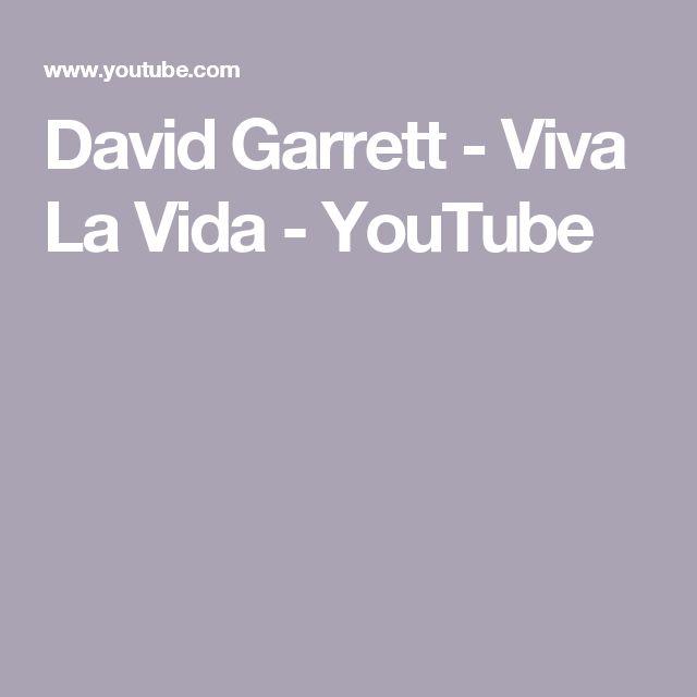 David Garrett - Viva La Vida - YouTube