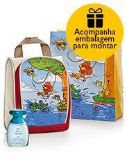 Presente Natura Naturé Mocinhos - Colônia + Bolsa + Embalagem Desmontada