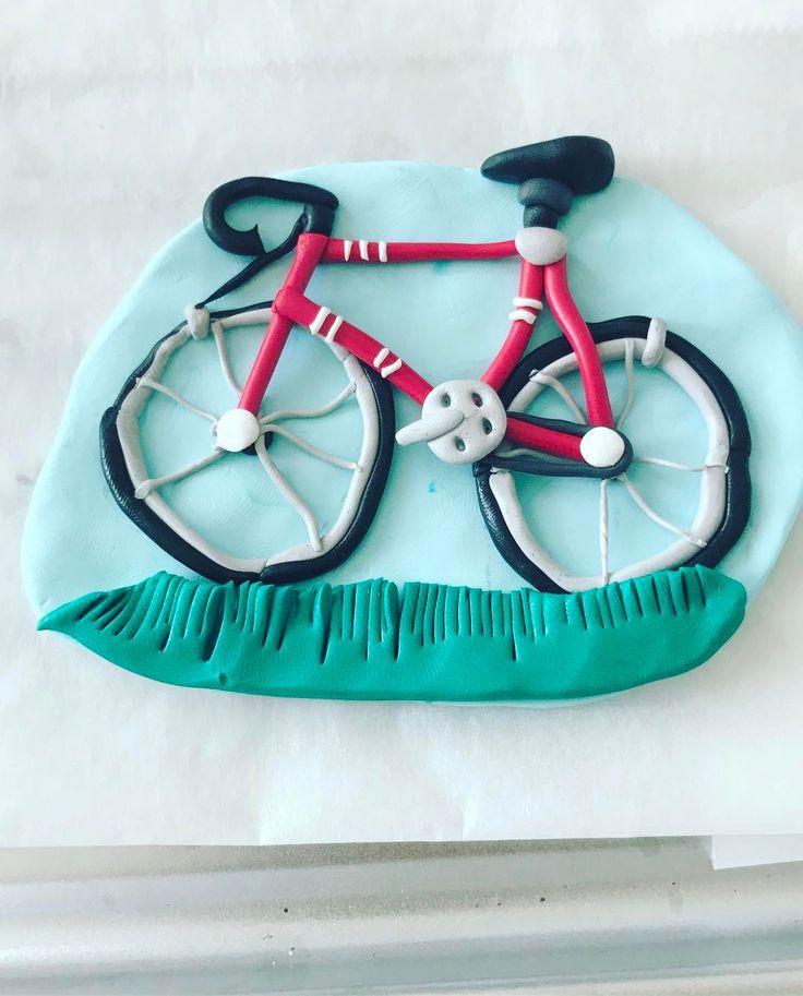 Another one #cake #caketopper #agapeartbya #fimo #polymerclayjewelry #polymerclay #unique