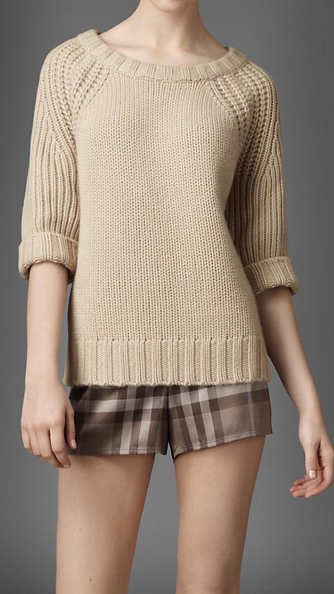 Burberry cashmere knit jumper