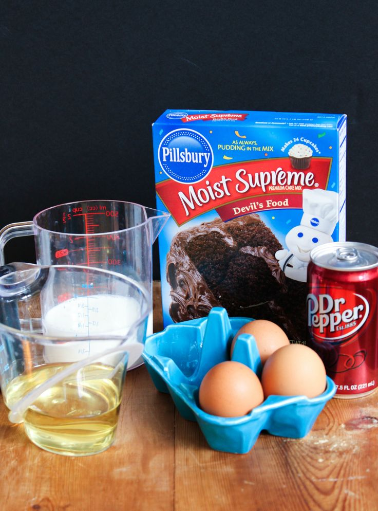 TheChic_dr pepper cupcake ingredients