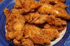 Si buscas la auténtica receta de pollo frito estilo sureño, aquí la tienes! Prueba el pollo frito famoso del sur de los estados unidos- ¡no te arrepentirás!