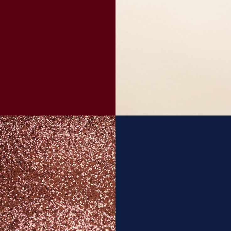 Our Wedding Colors! Marsala, Navy, Rose Gold, And