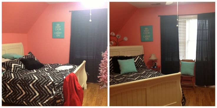 Young Ladies Bedroom Interior Redesign - Before & After