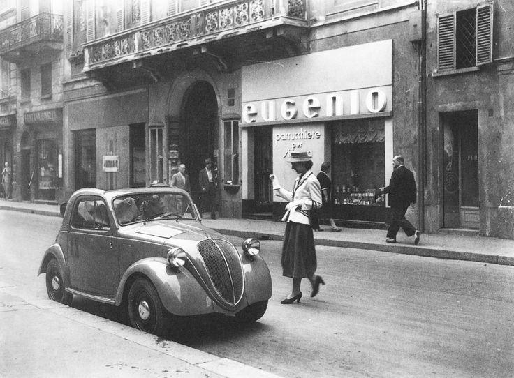 MILANO Sparita - via Montenapoleone anni 50