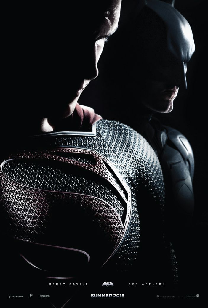 Zack Snyder's Batman Vs. Superman. Dont know why Batman is behind Superman, but whatev's.