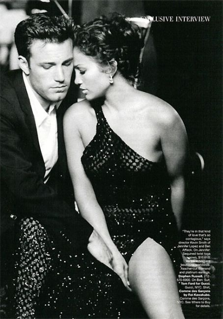 Ben Affleck & Jennifer Lopez,my other all time fave couple! (They wudve made an awesome married couple)