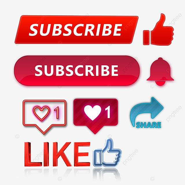Subscribe Like Share Bell Icon Button Collection Subscribe Button Like Button Share Button Png Transparent Clipart Image And Psd File For Free Download Clipart Images Clip Art Buttons
