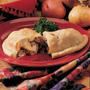 Upper Peninsula Pasties. Tip you can also use box rolled pie crusts to make out side. yeah for taking less time. I may even be able to fiddle with the recipe by add some of the stuff from this recipe too http://www.food.com/recipe/da-yooper-pasties-413754