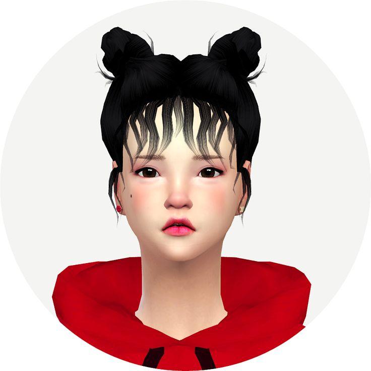 SeHun Hair Retexture by remaron at TSR » Sims 4 Updates