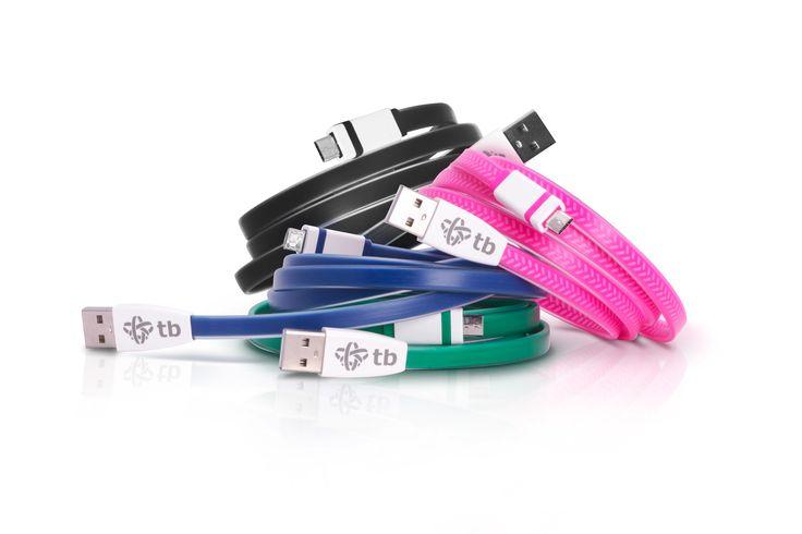 #Kabelki #TB #microUSB #USB mają bardzo dużą przepustowość, dzięki czemu szybko ładują nasze urządzenia :) Dostępne są na: http://bit.ly/1OVyePT #gadget #gadżet #kabel #biuro