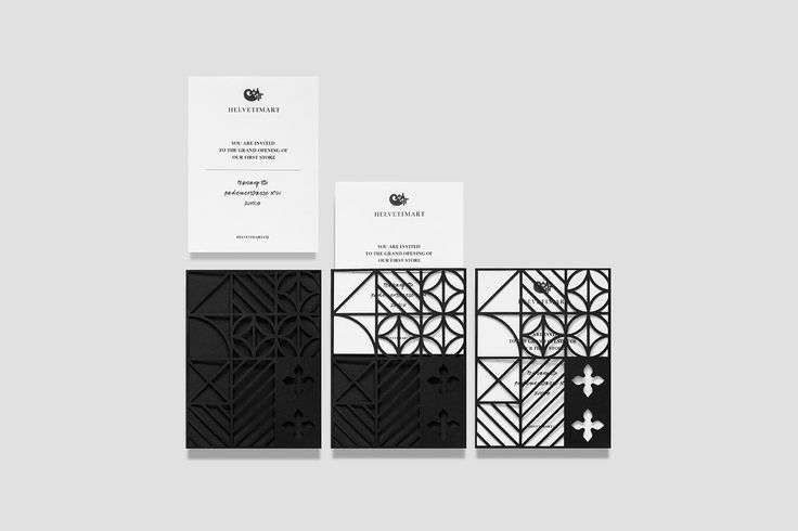 Brand identity and invitations by Anagrama for Lausanne-based independent food and speciality supermarket Helvetimart