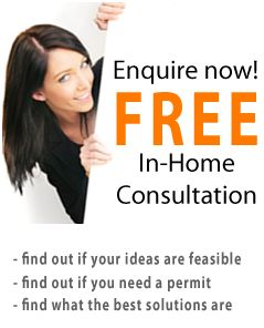 Make your Home extensions enquiry HERE